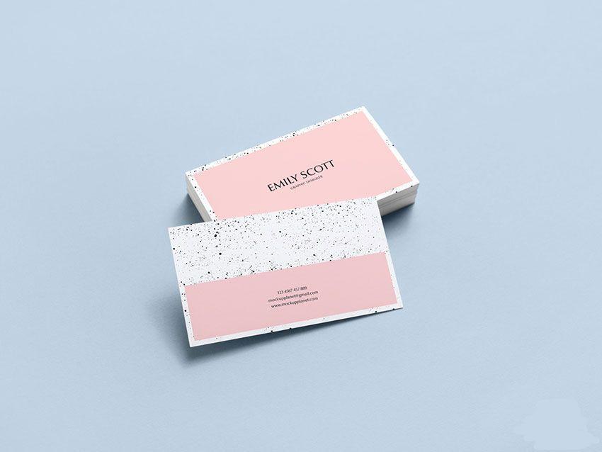 Free Brand Business Card Mockup Psd Business Card Mock Up Free Business Card Mockup Business Cards Mockup Psd