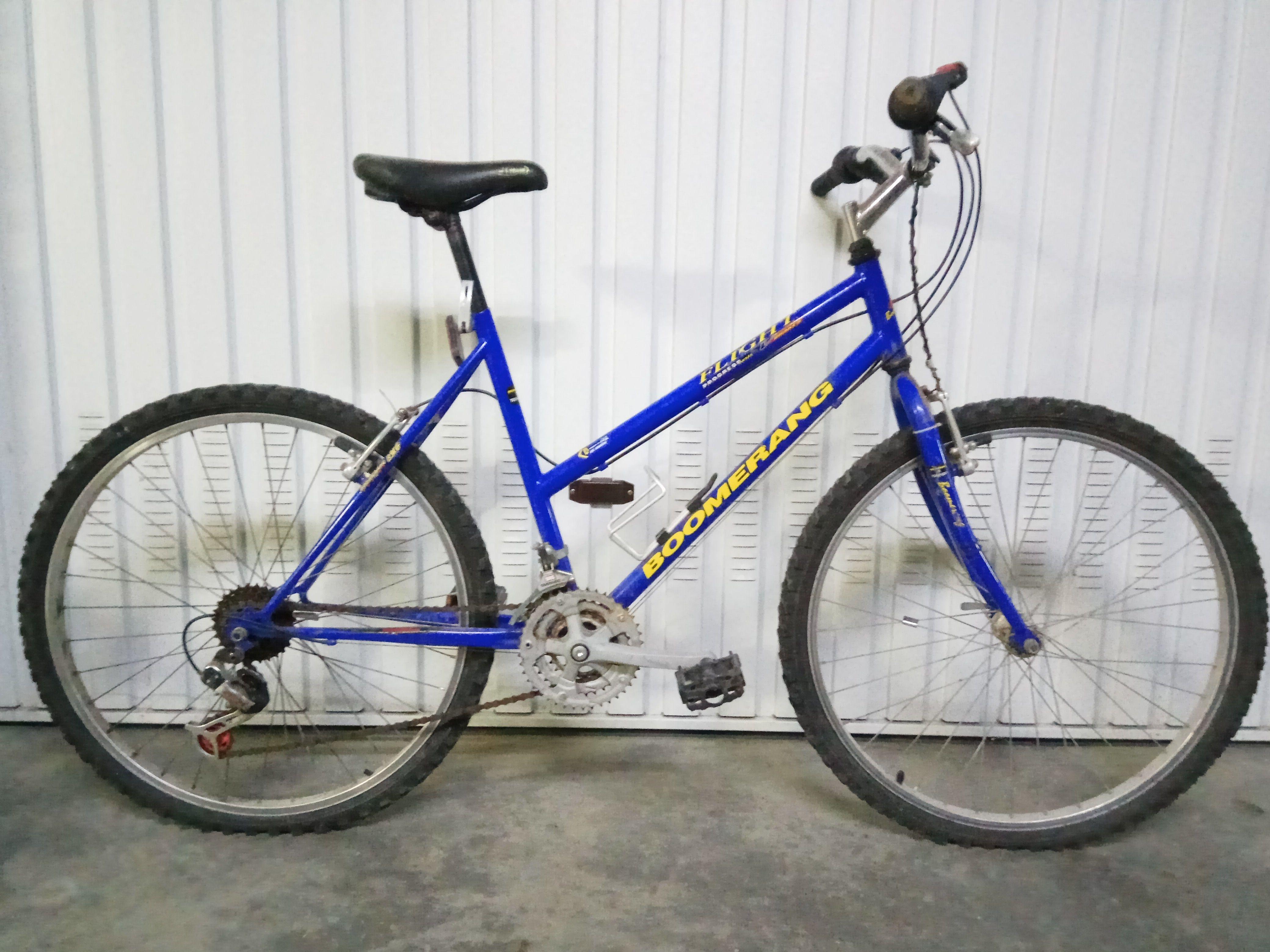 Bici Boomerang con Barra Baja 50€ MARCA: Boomerang MODELO: Flight ...