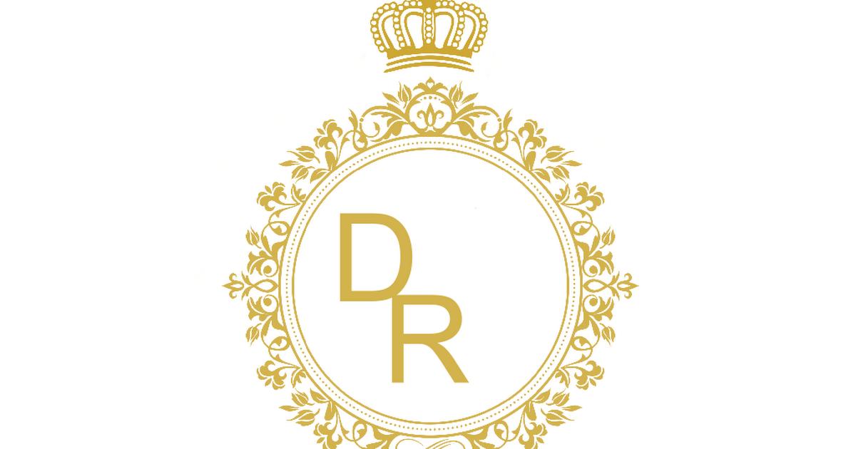 Logotipo Para 15 Anos: Monograma-editavel-iniciais-dourado.docx
