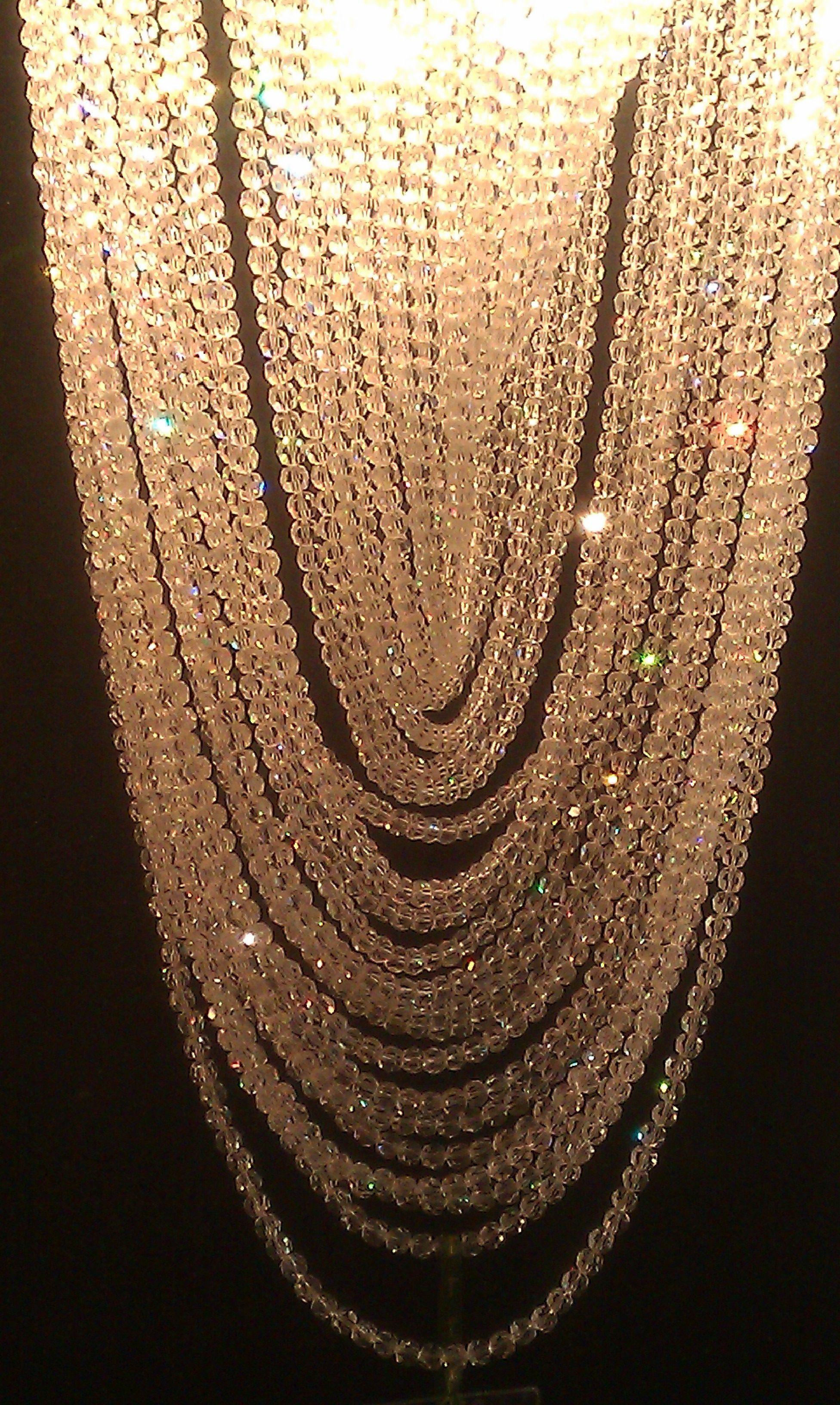 Crystal strands chandelier harrods shine pinterest harrods crystal strands chandelier harrods arubaitofo Images