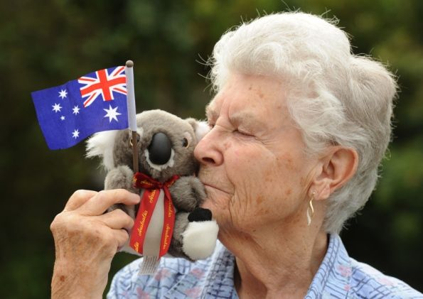 Grandmother's surprise from Oz