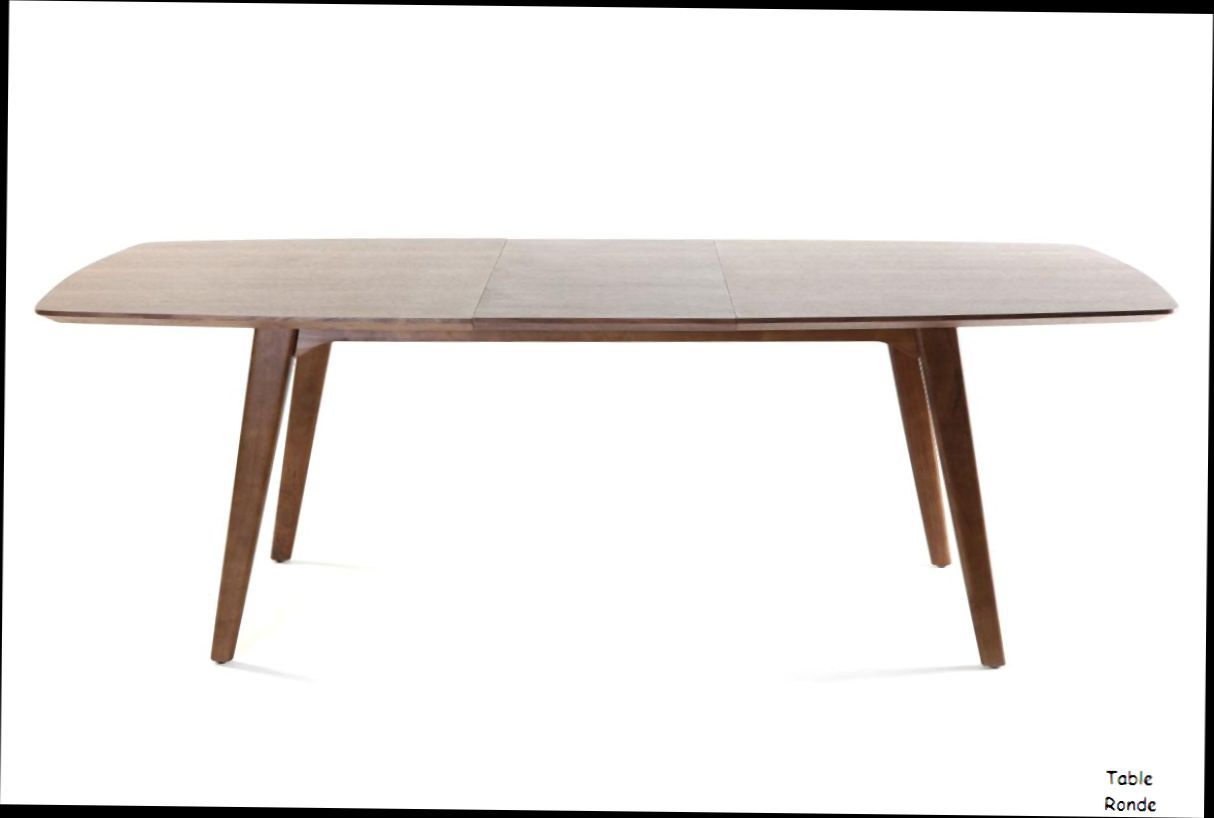 Table Ronde Pied Central Extensible Table A Manger Design Extensible Noyer Fifties 23407 1 0 0 0 Table Salle A Manger