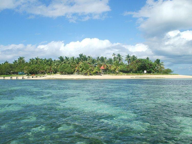 Beach on 'Atata Island