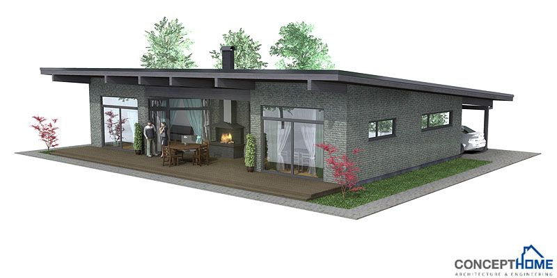 Very Popular Small House Plan Good Choice For The Vacation Home