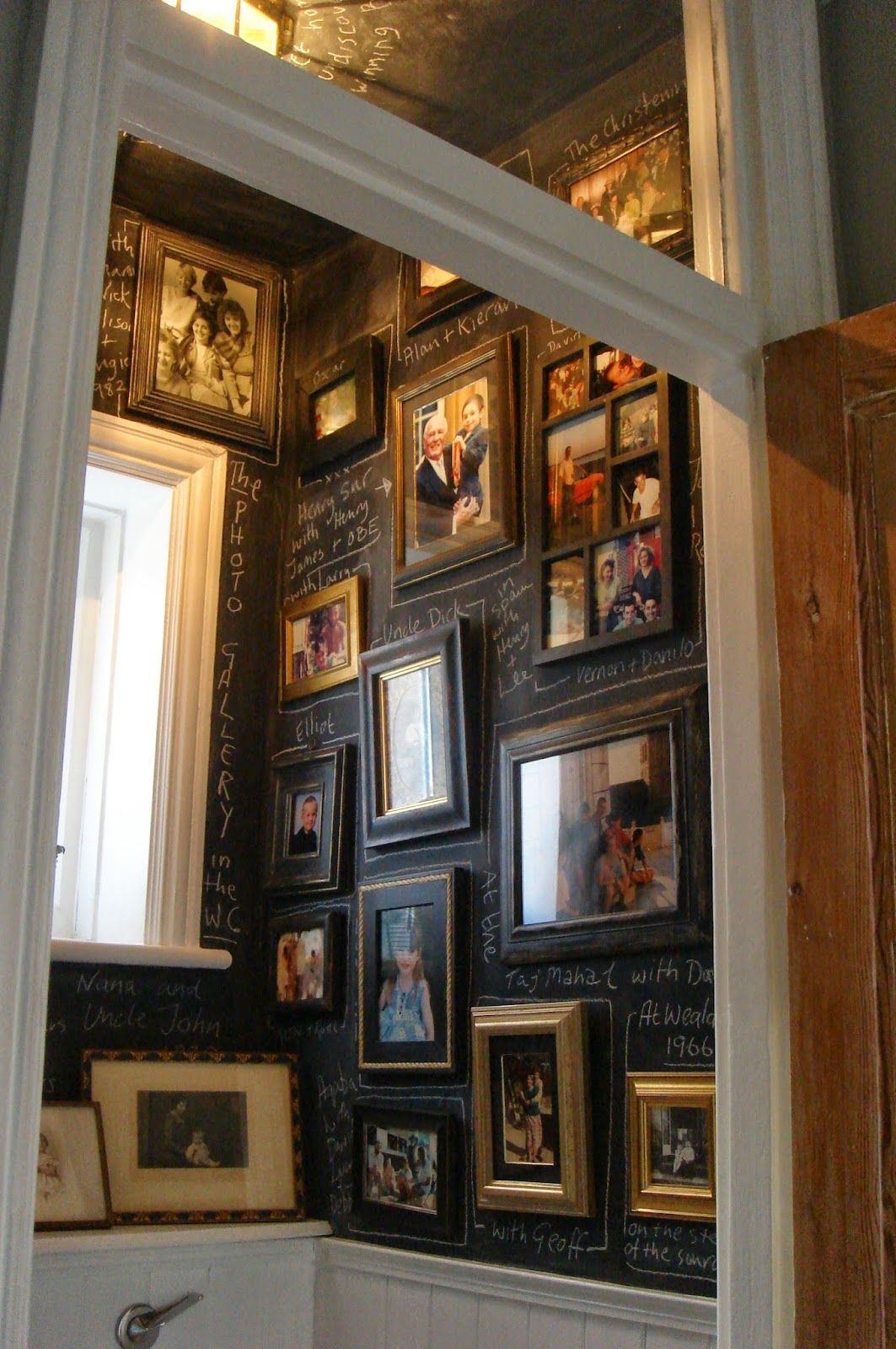Th inspire me tuesday white house tour chalkboard paint and