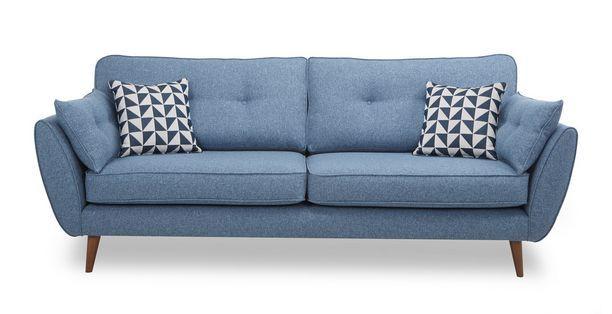 Zinc 4 Seater Sofa Zinc Dfs Living Room Sofa Fabric