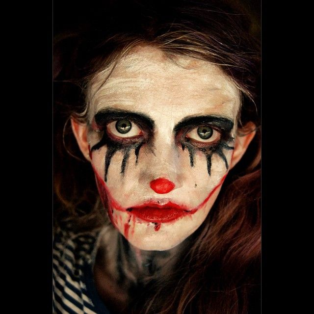 """""Broken Clown"" —  Photographer/Model: Joann Meyers"""