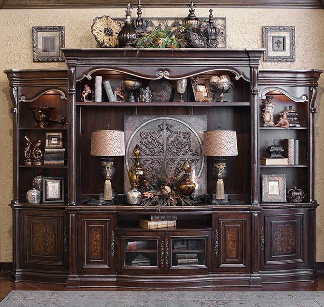 Entertainment Center Design Ideas built in cabinets Grand Palais Entertainment Center Check Out The Top Of The Entertainment Center