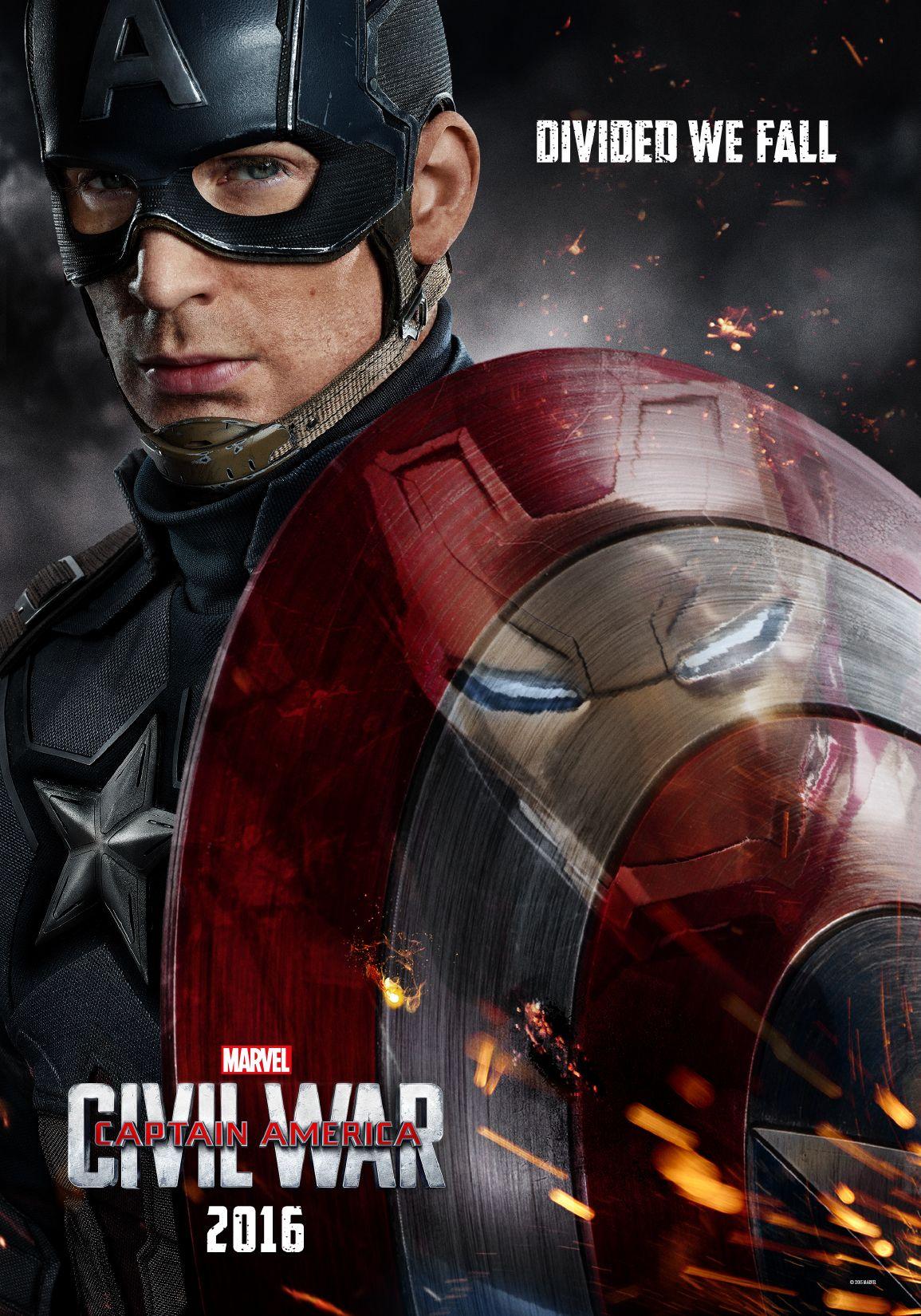 Captain America Civil War Captain America Civil War Poster Captain America Civil War Movie Marvel Captain America