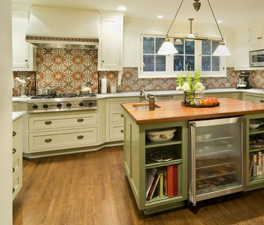 Ann Sacks Tile Backsplash | Ann Sacks tile backsplash | More Traditional Design