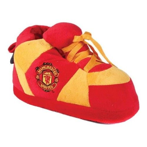 finest selection 11d77 544b6 Happy Feet FIFA Sneaker Boot Slipper - Manchester United Slippers