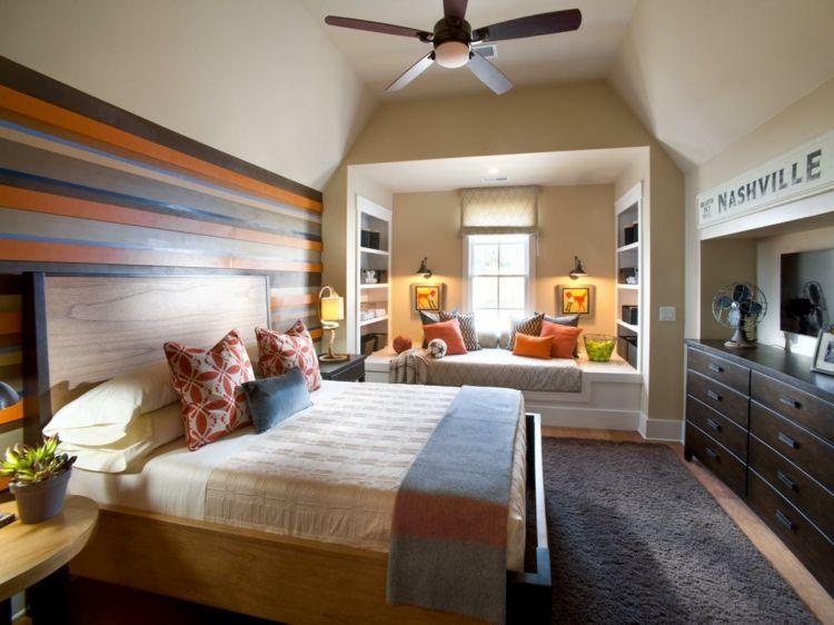 Wohnzimmer Rot Orange
