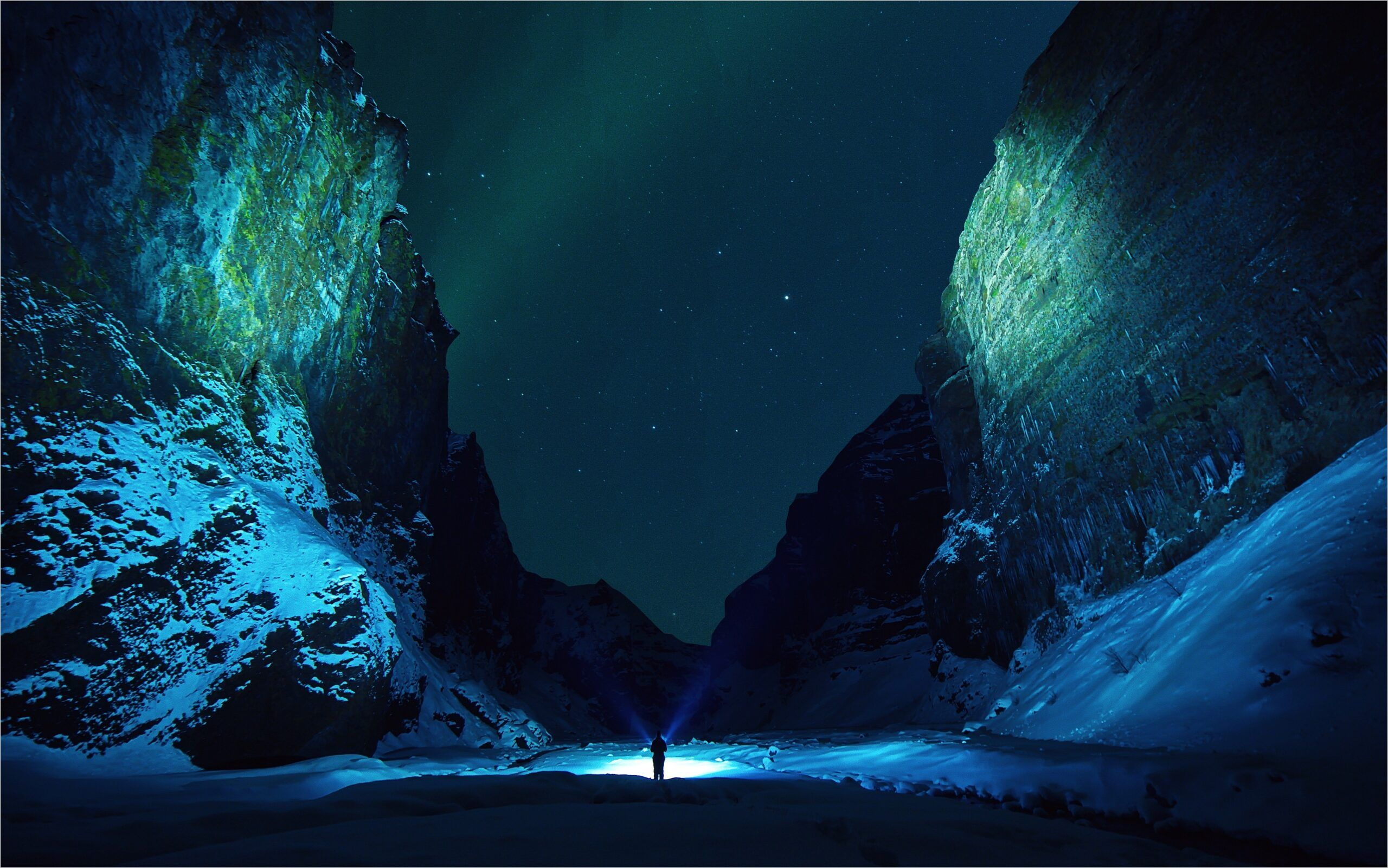 Snow Night 4k Wallpaper In 2020 Sky Photoshop Night Landscape Photography Sky Pictures