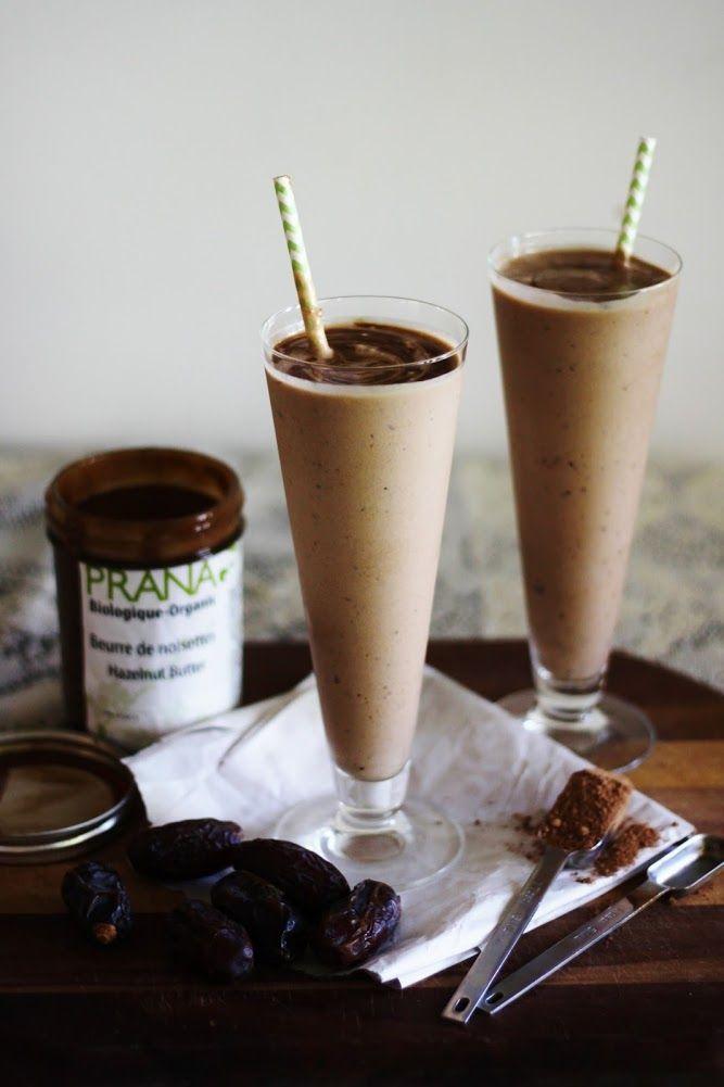 This Rawsome Vegan Life Healthy Nutella Milkshake... need!