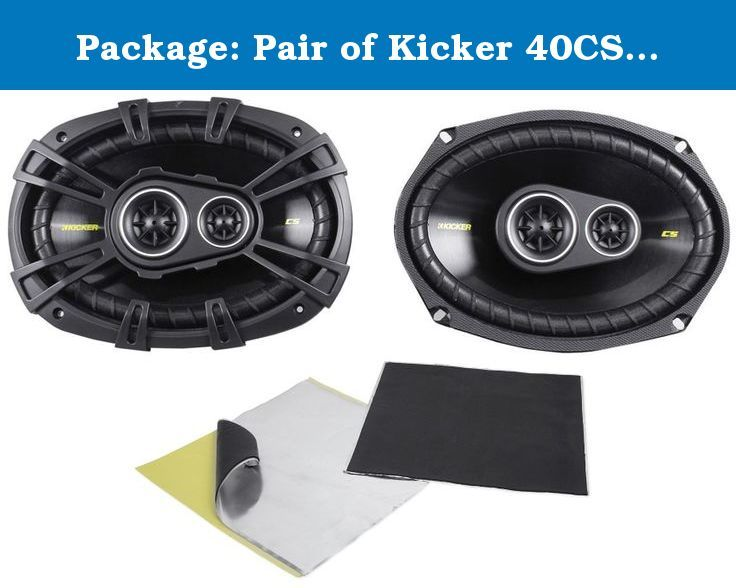 Pairs Of CS-J620 6.5 300W Car Audio 2-WAY Coaxial Car Speakers System // 4 Speakers Package In Bulk Box Two 2