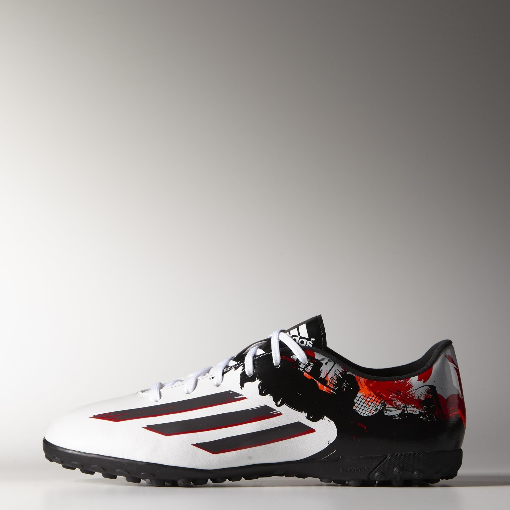 132a17bf13a30 adidas Botines de fútbol Messi 10.3 Césped Artificial - Blanco ...