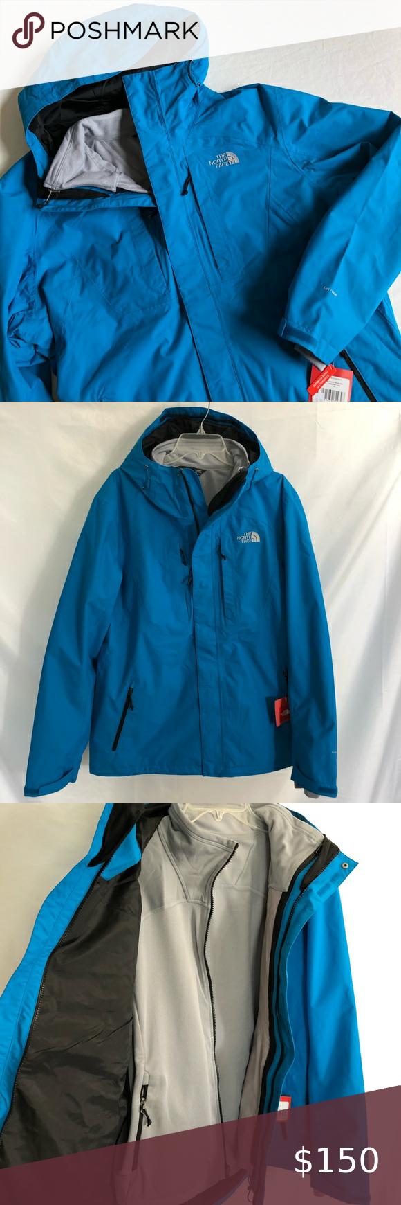 North Face Cinder Tri Climate 3 In 1 Ski Jacket Xl Ski Jacket Clothes Design Jackets [ 1740 x 580 Pixel ]