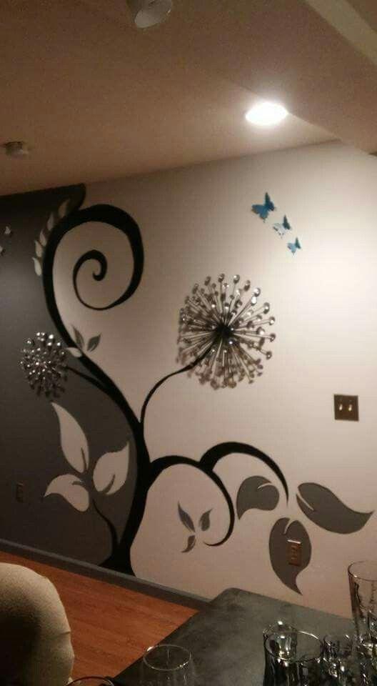 рисунок на стене En 2019 Pinturas De Pared Decoracion De