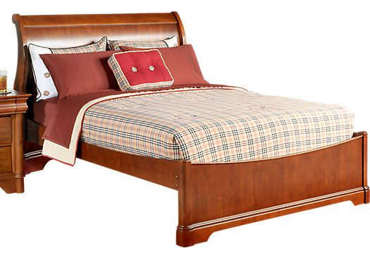 Shop for a Oberon Dark Cherry 3 Pc Full Sleigh Bed at Rooms To Go Kids. Find  that will look great in your home and complement the rest of your furniture.