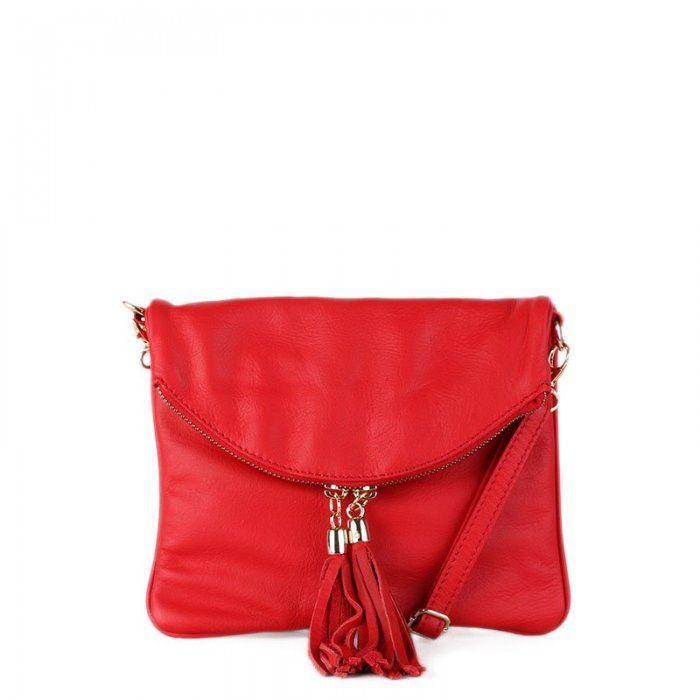 687c09ea59 kožené kabelky červená kabelka malé zlaté kovanie na zips crossbody na plece  cez rameno so štetcom  kabelkynet  crossbodykabelky  talianskekabelky ...