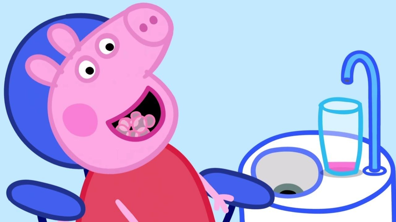 peppa pig english episodes  peppa pig about town  peppa