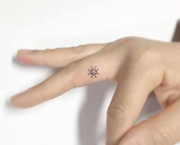 60 Tiny Tattoos That Belong At The Beach This Summer - TattooBlend
