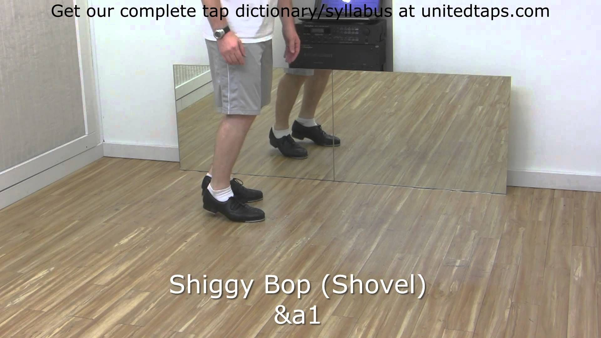 Shiggy Bop Tap Dance Move Shown By Rod Howell