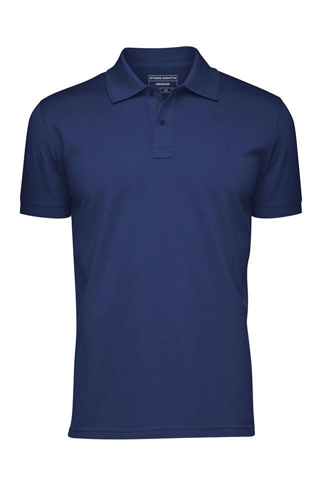 Cotton No Shrink Pique Polo T Shirt 17