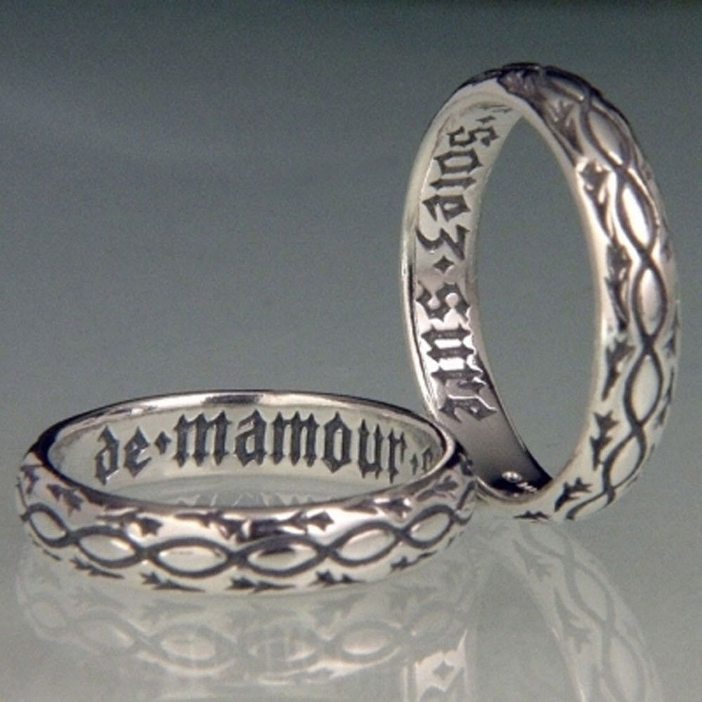 French: Of My Love Be Sure Ring