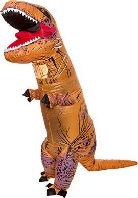 Inflatable Dinosaur Costume Adult Giant Jurassic T-Rex Blow Up Halloween  Costume by Splurge Worthy Toys and Games Be a hit at your next party with  the ... ed3d030a5d6e