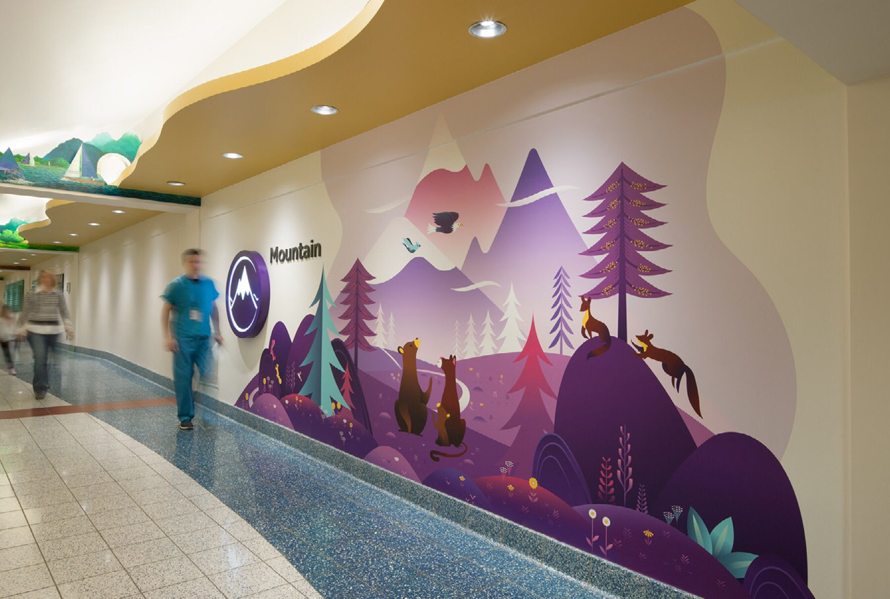 Seattle Children S Hospital Signage Making Wayfinding