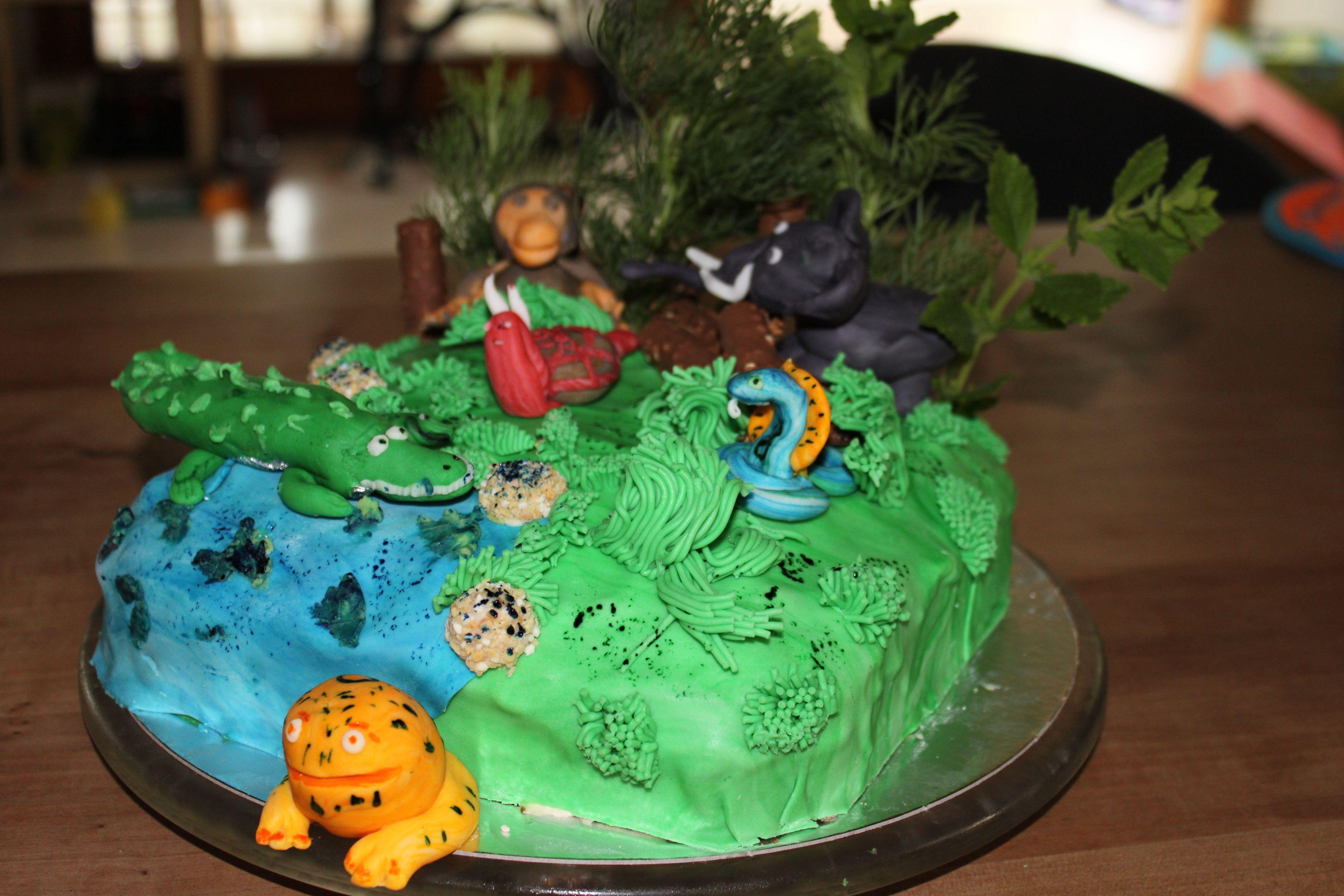 Dschungel Torte