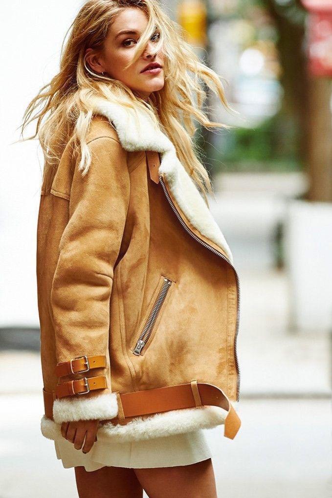 Acne Studios Velocite Shearling jacket | Coats & Jackets ...