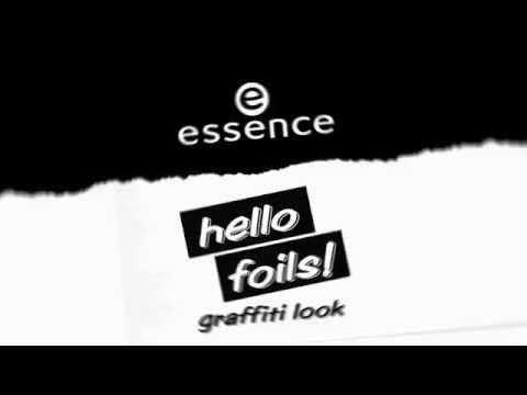 Nail art hello foils! transfer foils tutorial - YouTube