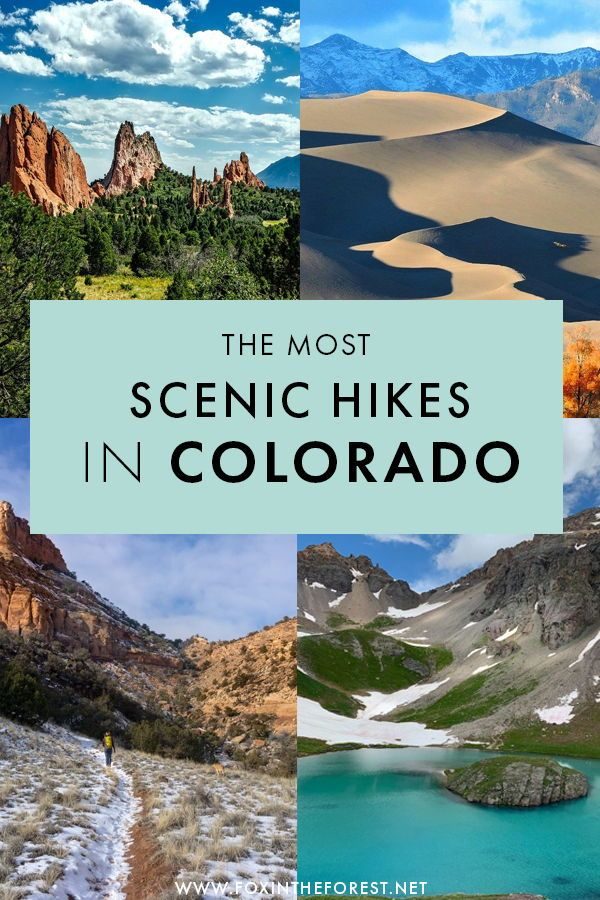 25 of the Best Hikes in Colorado with EPIC Scenery