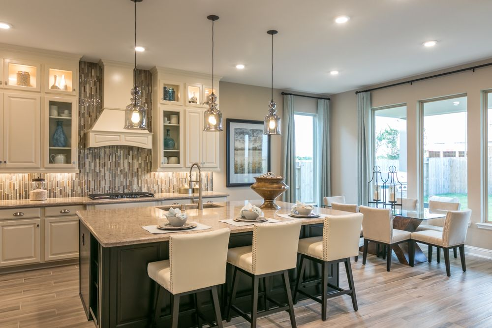 Beazer homes featuring staunton pendants by progress lighting