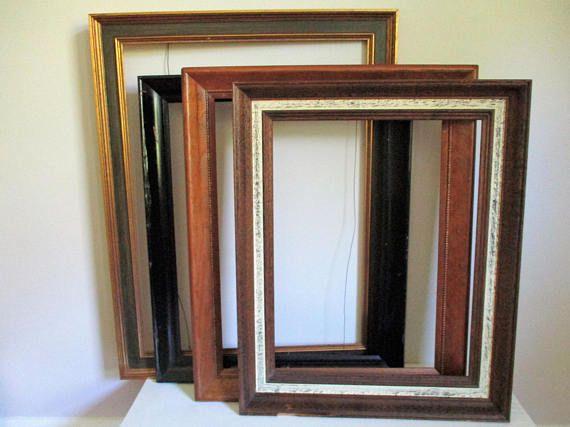 Lot Old Wood Frames Large Wooden Ornate Maple16 By Old Wood Wood Frame Frame