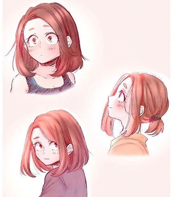 Photo of Uraraka hair styles   My Hero Academia