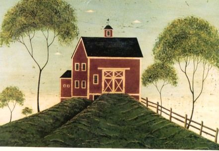 Warren Kimble's Red Barn