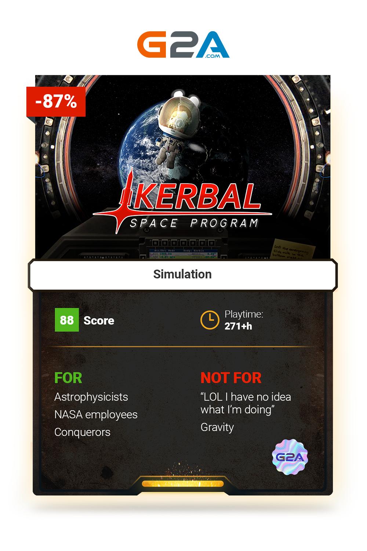 Kerbal Space Program space simulation gaming Kerbal