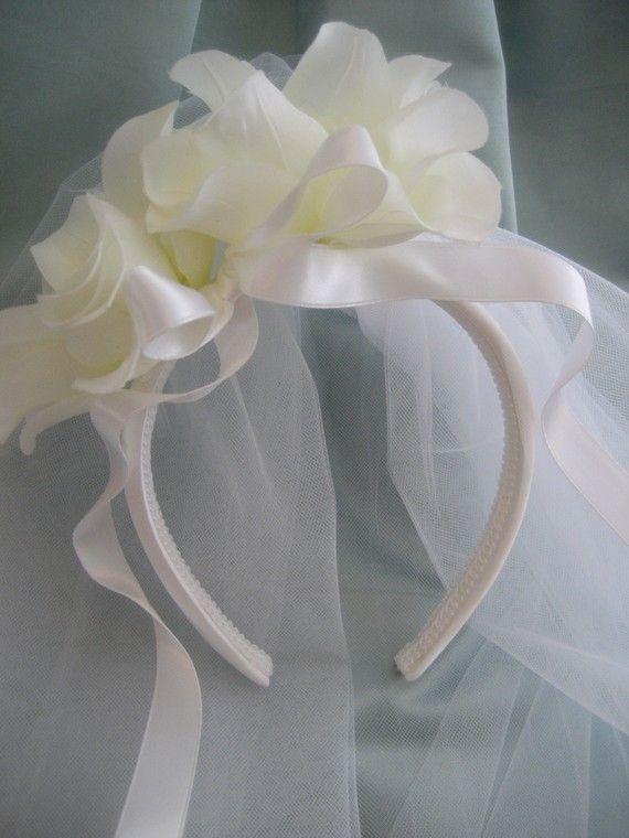 First Communion Veil Para casamento ou Primeira comunhão