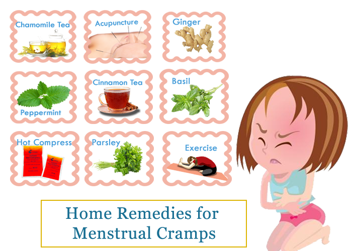Natural Remedy For Menstrual Cramps And Bloating