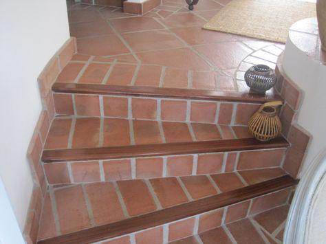 Resultado de imagen para escaleras rusticas de madera for Escalera de madera al aire libre precio