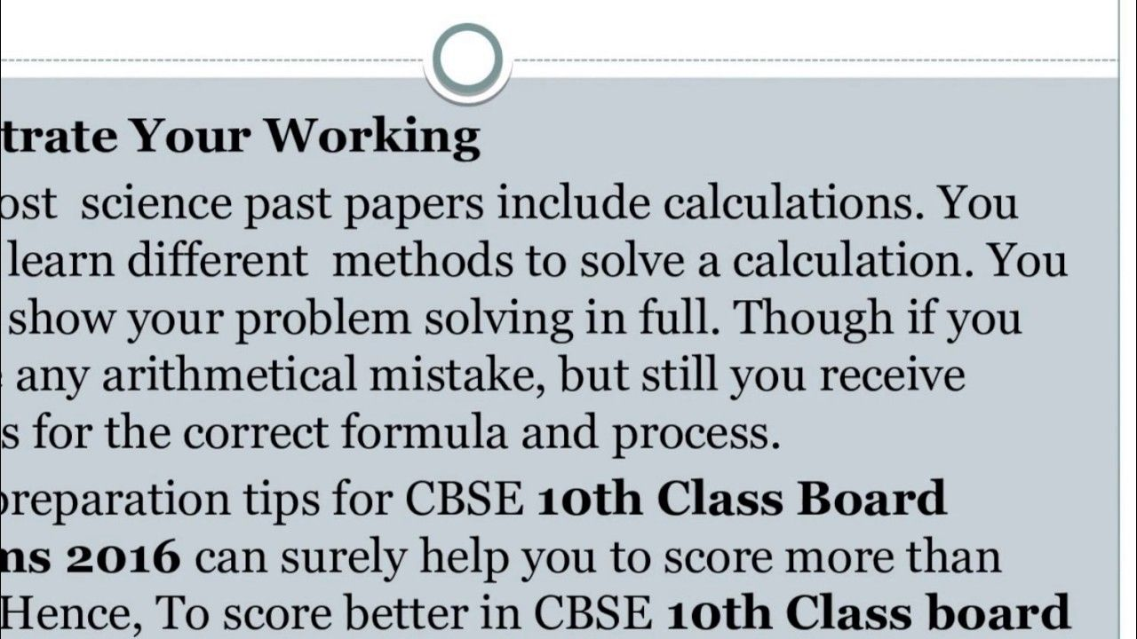 How To Get Good Marks In Cbse 10th Board Exams