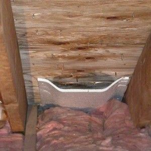 Insulation Baffles For Soffit Vents Insulation Is