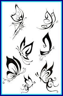 50 Elegant Tattoo Designs Tribal Butterfly Tattoo Tribal Butterfly Butterfly Drawing