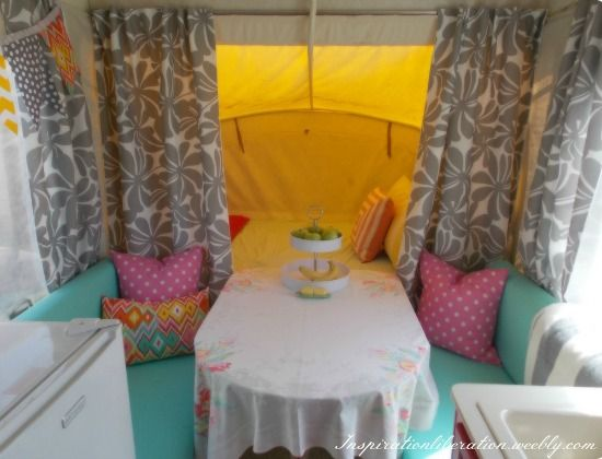 Five Pop Up Camper Makeovers That Will Inspire {& Motivate