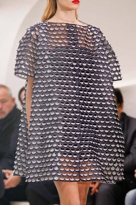 Raf Simons for Christian Dior Spring 2014 Couture collection