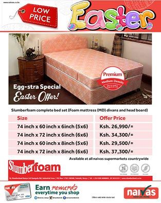 Easter 2016 Offer Bed Divan Slumberfoam Mattress And