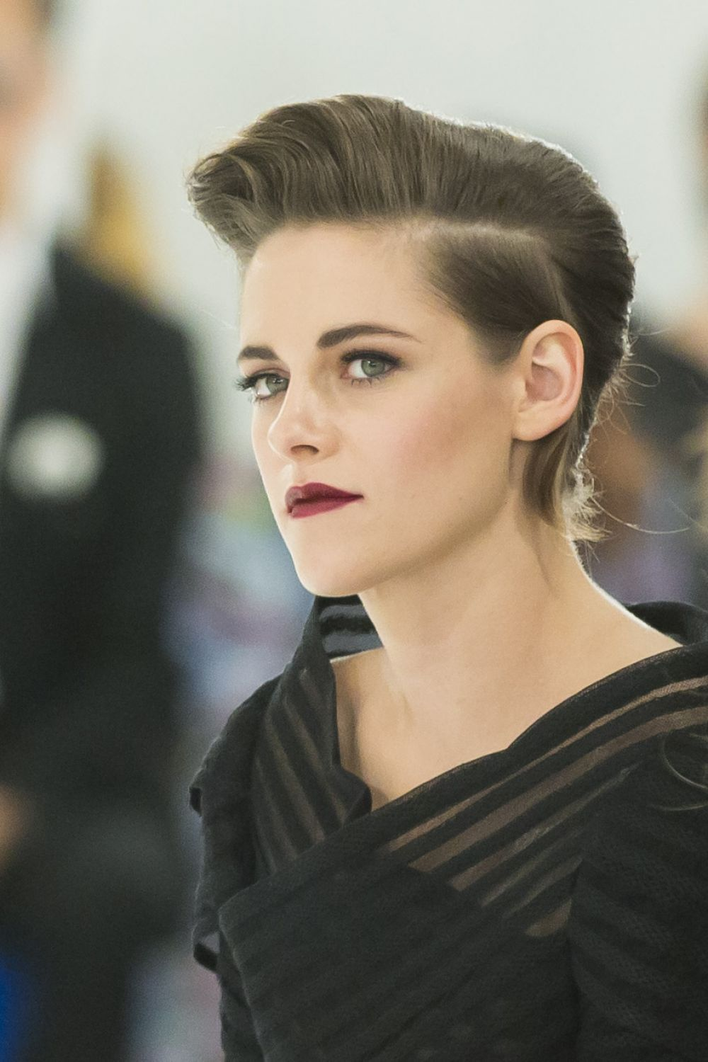 kristen stewart korea 2015 | Kristen Stewart attends the Chanel Cruise 2015/2016 Fashion Show In ...